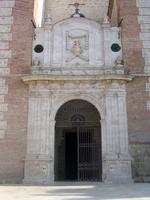 Portada de la iglesia de Santa María Magdalena