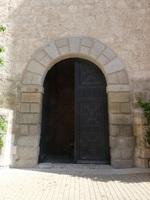 Puerta en el lateral sur de la Catedral de Santa María Magdalena