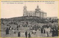 Peregrinación de 1910. Tarjetas Postales.