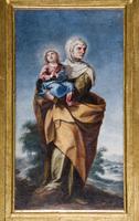 Santa Ana con la Virgen