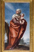 Santa Isabel con San Juan Bautista