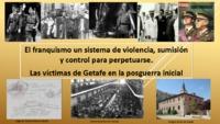 Semblanza de las victimas de la represión franquista