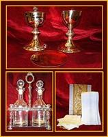 Vasos Sagrados, Corporales y Vinajeras